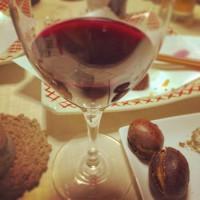 焼き栗とワイン